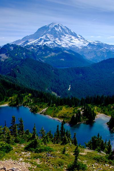 Backpacking Mt. Rainier National Park