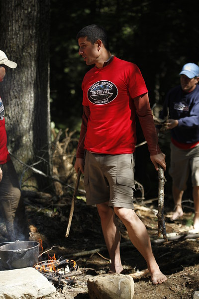 Survival Challenge Camp life
