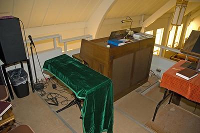 New Organ Installation 9-2008