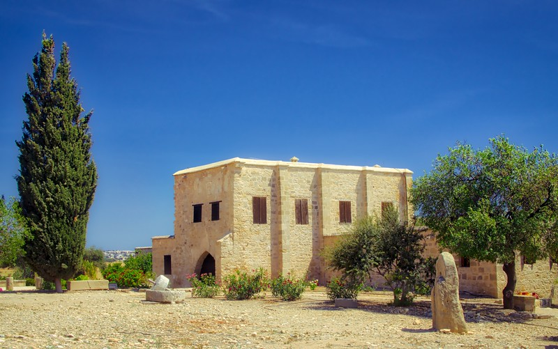 A museum in Kouklia, Paphos