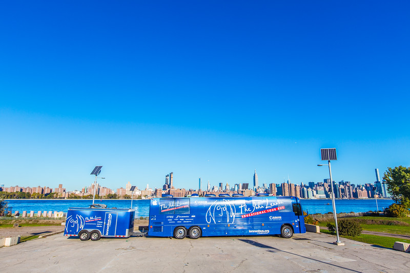 2016_10_15, Brooklyn, NY, Smorgasburg, Bus,Establishing Shot, Exterior