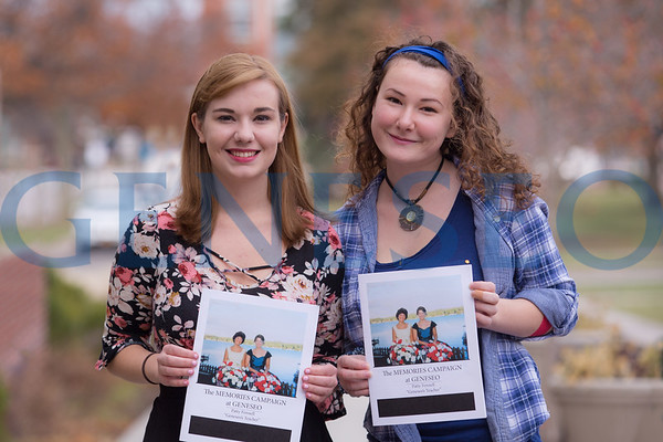 Holly Gilbert and Casey Vincelette: Memories project