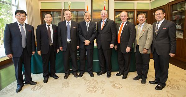 Henan University Delegate Visit - January 9, 2017