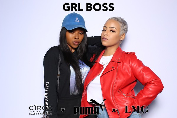 GRL BOSS Puma Launch Party (SkinGlow Booth)