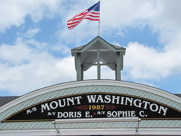 M/s Mount Washington cruise on Lake Winnipesaukee, NH.