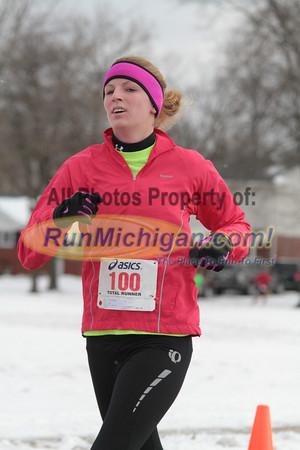 Finish Line 21:30-32:59 minutes - 2012 Riverview Winterfest