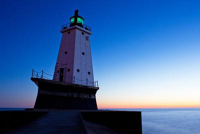 Michigan Lighthouse Guide - Ludington Light