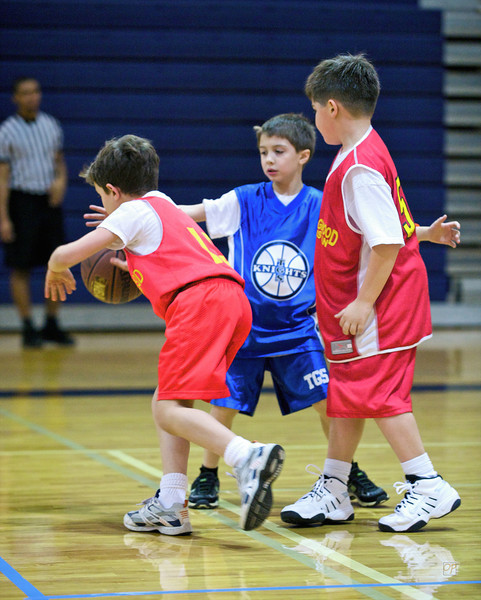 Second Grade Basketball vs. Orangewood-January 16, 2010