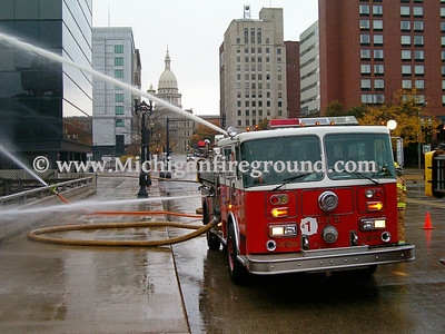 10/16/04 - Ingham County Tanker Task Force training exercise