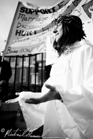 Boston Gay Marriage Rally - 2006