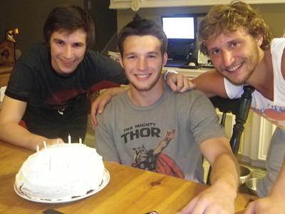 Hayden is 19yrs old - June 4, 2011