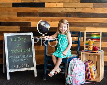 NCA 1st Day of Preschool