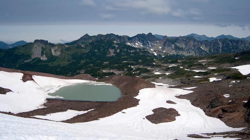 View from Flett Glacier.
