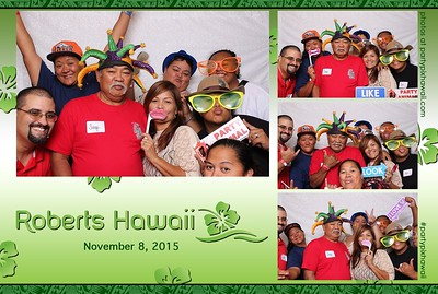 Roberts Hawaii (Mini Open Air Photo Booth)