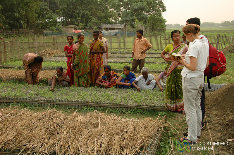 Seeing the Nursury Project - Deep Colony, India