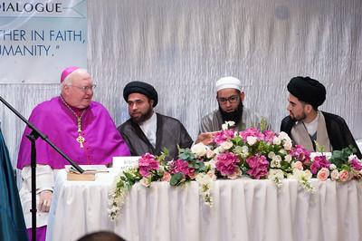 Catholics and Muslims at SABA with Bishop McGrath