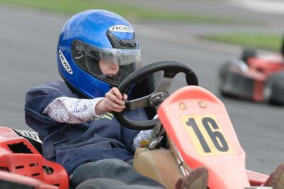 Ostern 2009: Kartfahren in Bassum