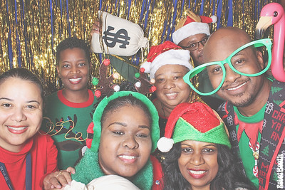 12-17-19 Atlanta Emory Conference Center Hotel Photo Booth - 2019 Emory Staff Holiday Party - Robot Booth