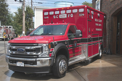 Sea Cliff Ambulance 579 Wetdown [8-14-21]