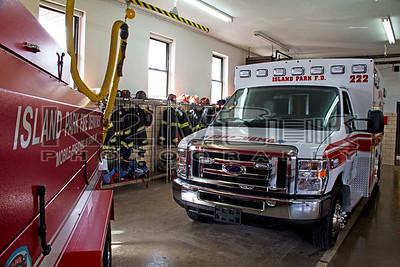 Island Park Ambulance 222 Dedication [1-26-14]