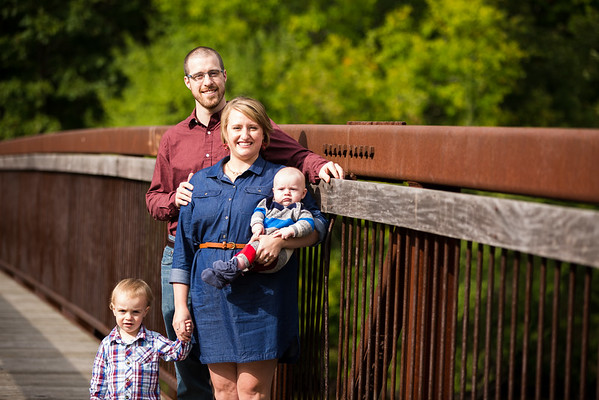 Kalamazoo Family Session Baby Boys Douglass