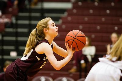 AAJHS Girls Basketball Maroon-White Game