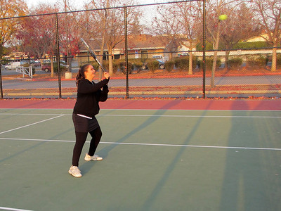Tennis with Anna Kyle, Lorin, and Lonny 12/23/2011