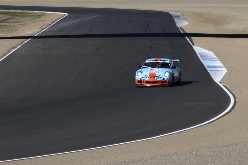 Porsche GT3 Cup Race at Laguna Seca