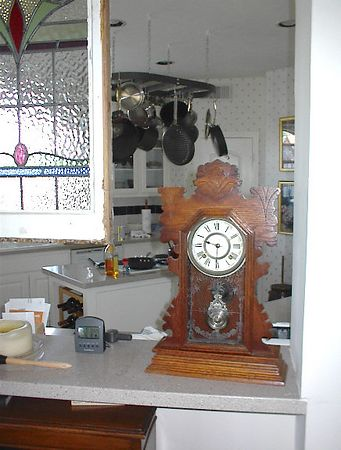 Kitchen - Ansonia kitchen clock