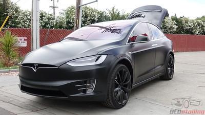 2019 Tesla Model X - Black - XPEL Stealth and CQuartz Finest Reserve Coating