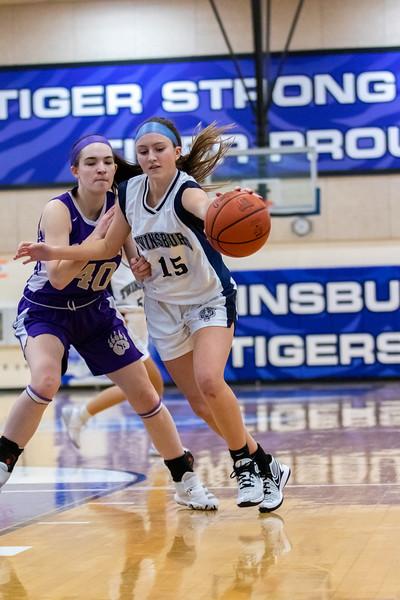 2021-01-16 -- Twinsburg vs North Royalton High School Girls Junior Varsity Basketball