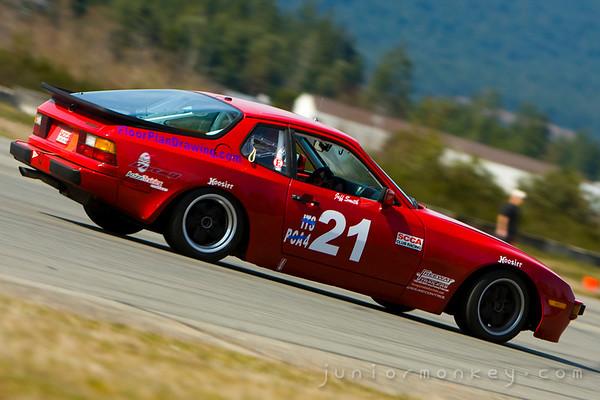 04.05.09 - Northwest Region of Sports Car Club of America - Autocross Day