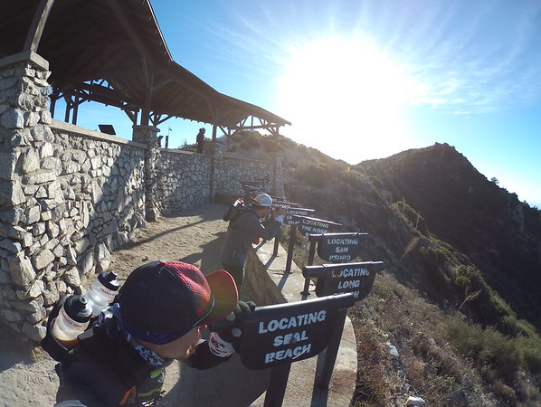 Echo mountain, castle canyon, Muir peak, inspiration point! 12-22-2017