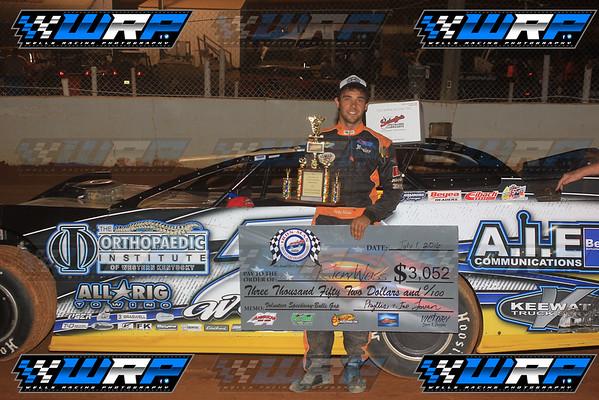 Volunteer Speedway Iron Man Mountain Championship 7/1/16