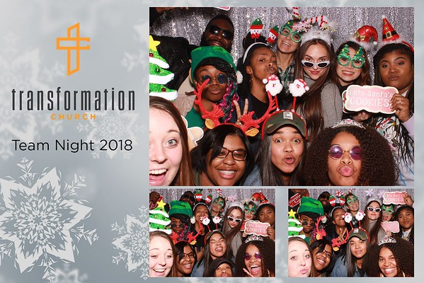 Transformation Church Team Night 2018