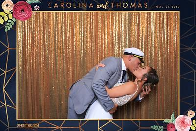Carolina and Thomas' Wedding - November 23, 2019