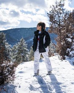 Haley Vigil- Snow Session