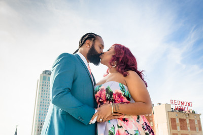 Brittany Seay and Terrance Marzette Engagement 111718