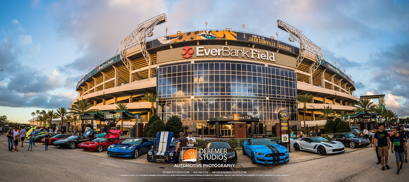 PANO 2017 10 Cars and Coffee - Everbank Field 112A - Deremer Studios LLC
