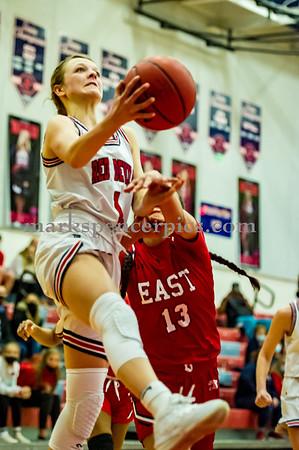 Basketball GSHS vs East 2-25-2021