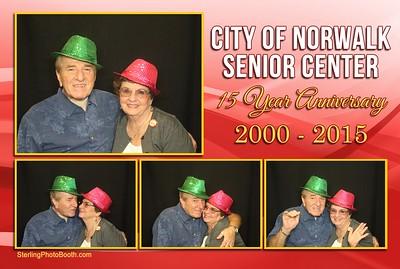 City of Norwalk Senior Center 15 Year Anniversary 2000 -2015