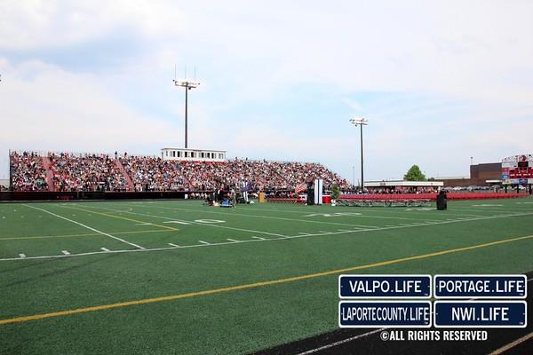 Portage High School Graduation 2013