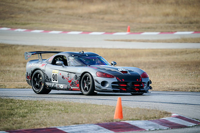 90 Gray Dodge Viper ACR