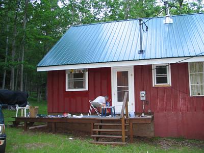 Moyers Cabin June 2006