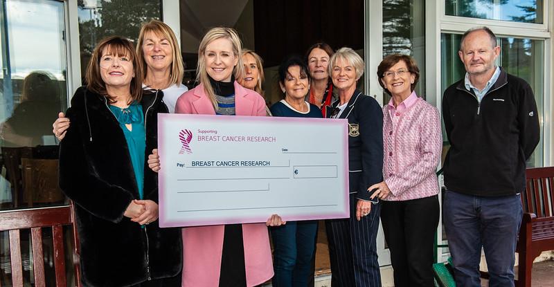 Monkstown charity presentation