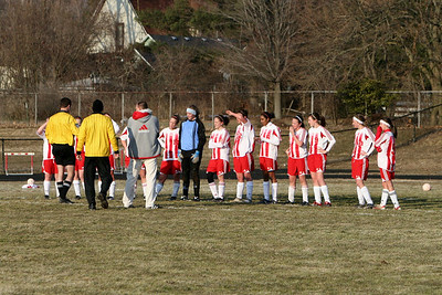 Girls Varsity Soccer - 2007-2008 - 3/26/2008 Hart