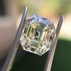 4.71ct Antique Asscher Cut Diamond GIA WX VS2 20