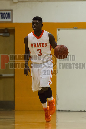 Winter Park Wildcats @ Boone Braves Boys JV Basketball - 2013