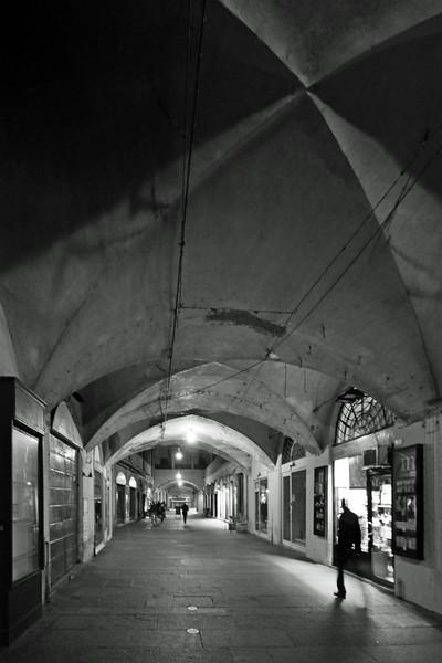 Via Broletto - Reggio Emilia, Italy - November 12, 2009