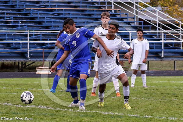 Fortuna High Boys Soccer vs Del Norte 10-27-18